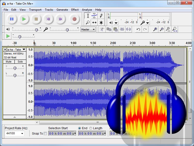 Аудио редактор: конвертируем и обрезаем треки