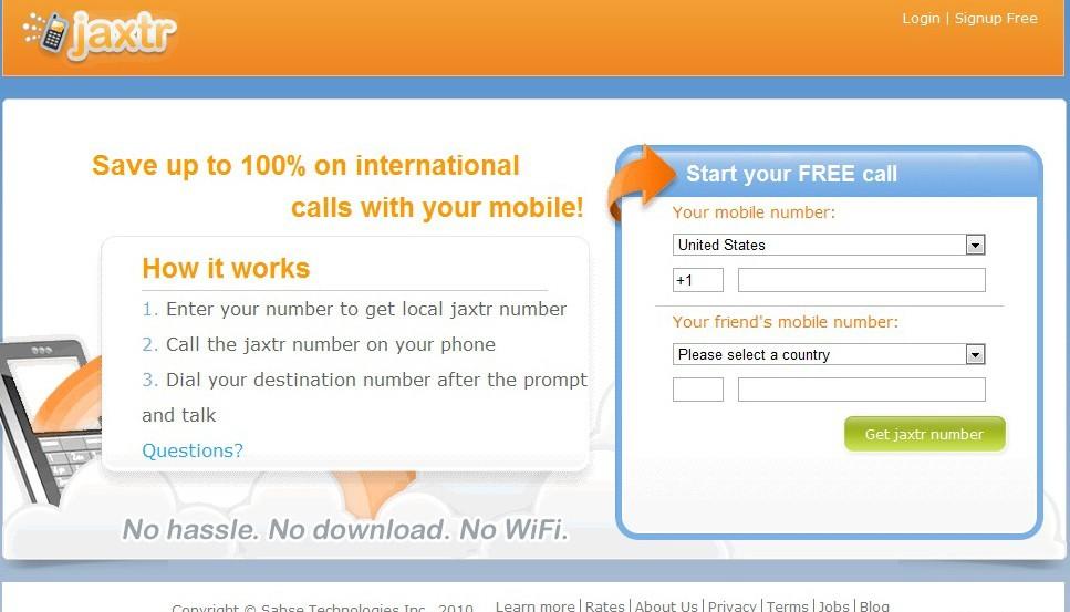 бесплатный звонок на мобильный через интернет - фото 8