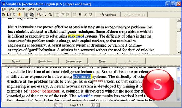 Программы для распознавания текста