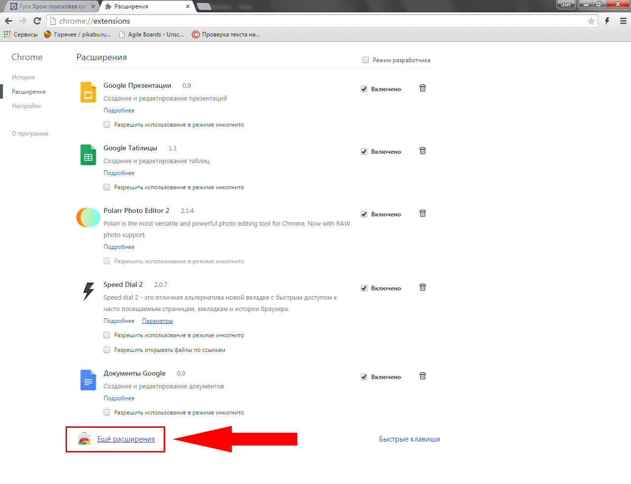 Гугл Хром поисковая система