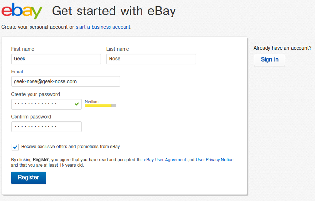 ebay на русском языке
