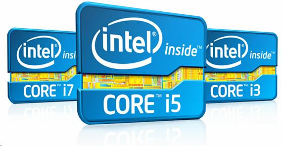 intel core i3, i5, i7,