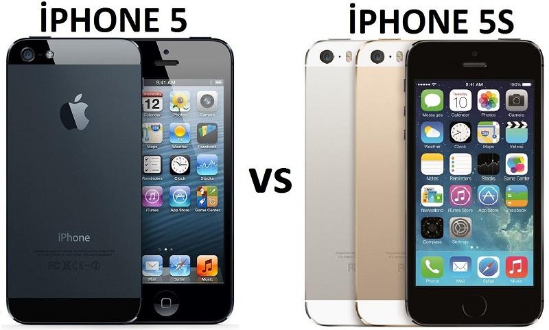 чем отличается айфон 5 от 5s