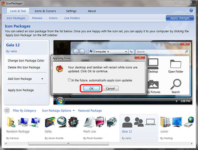 скачать иконки для windows 7