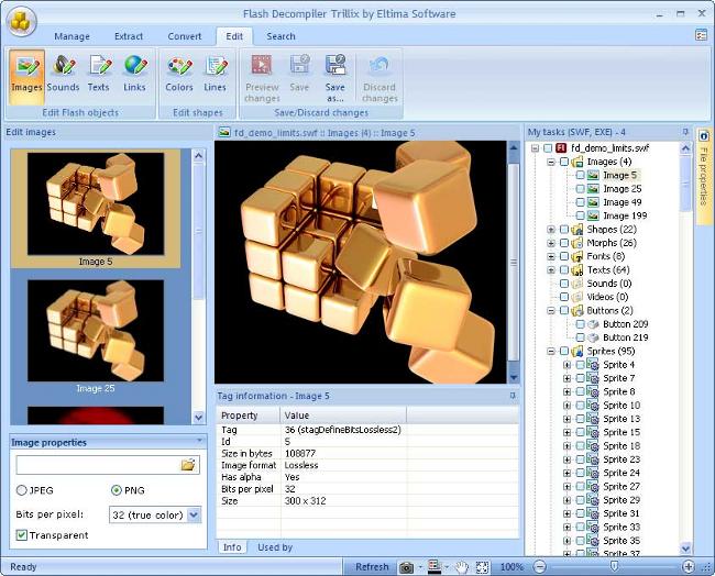 программа для редактирования swf файлов