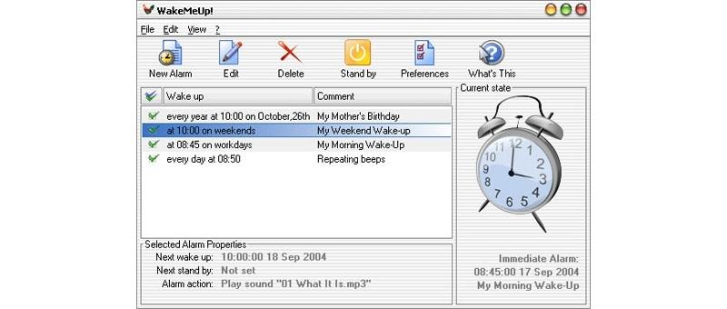 будильник на компьютер