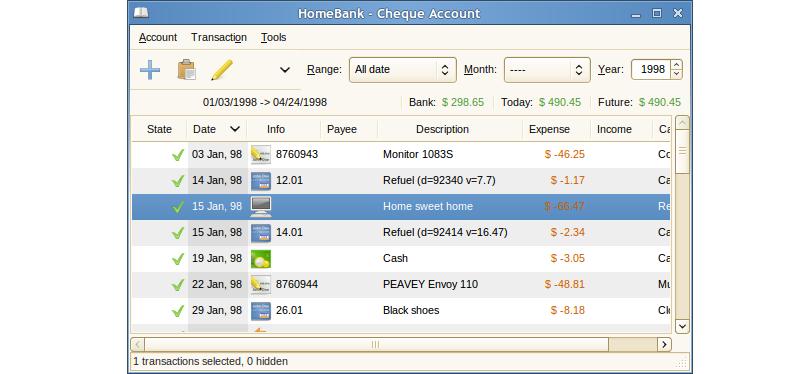 Бесплатные Программы для Домашней бухгалтерии