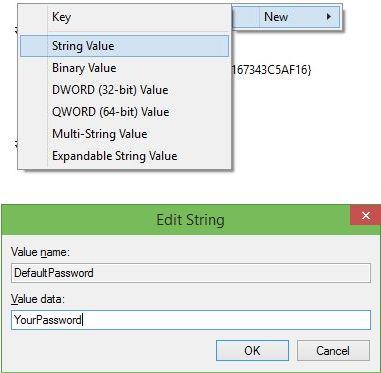 пароль windows 10