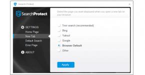 как удалить search protect с компьютера