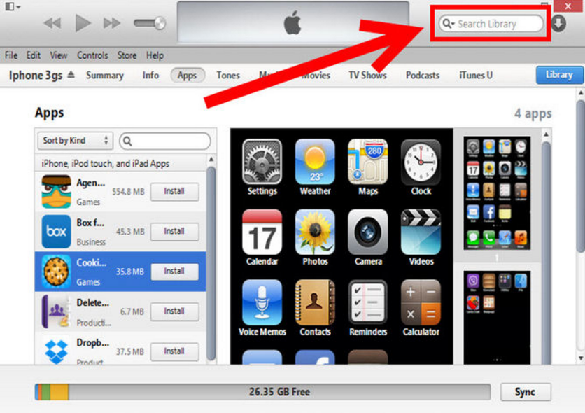 Поиск приложений по названию через iTunes