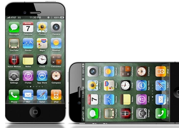 Рабочий стол iPhone