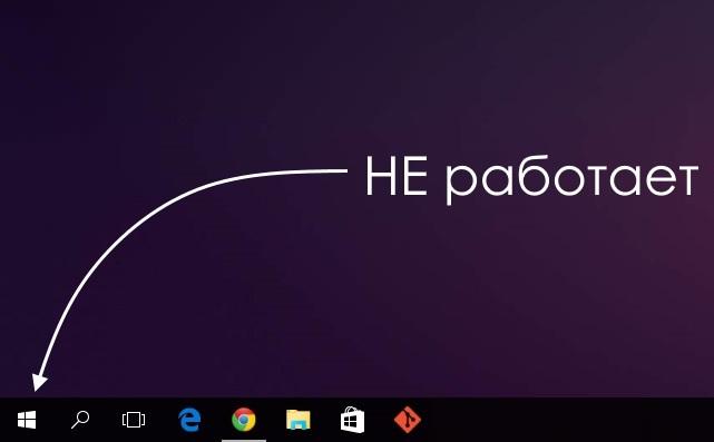 Что делать, когда не работает меню пуск в Windows 10