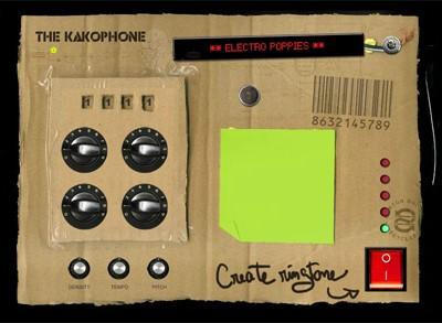 Креативный проигрыватель для треков на сайте The Kakophone
