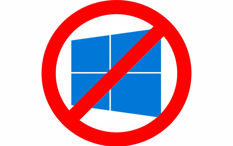 Удалить обновление до Windows 10 различными способами
