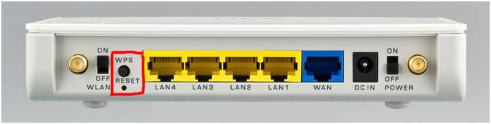 Расположение кнопки на тыльной стороне устройства