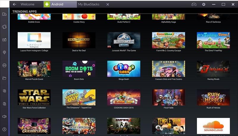 Широкий спектр приложений и игр