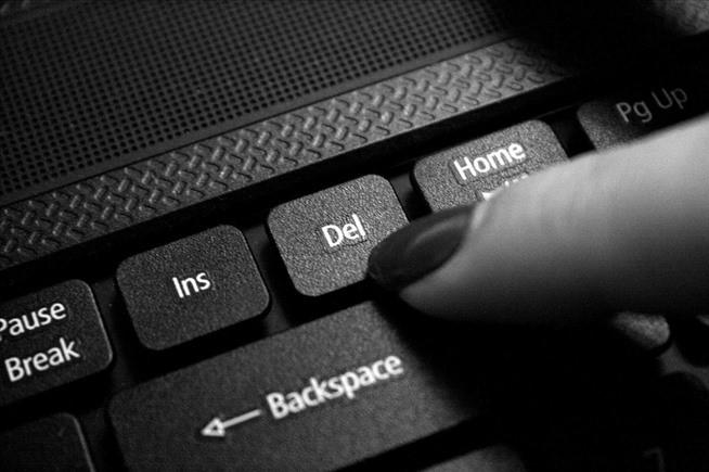 Клавиша «Delete» на клавиатуре ноутбука