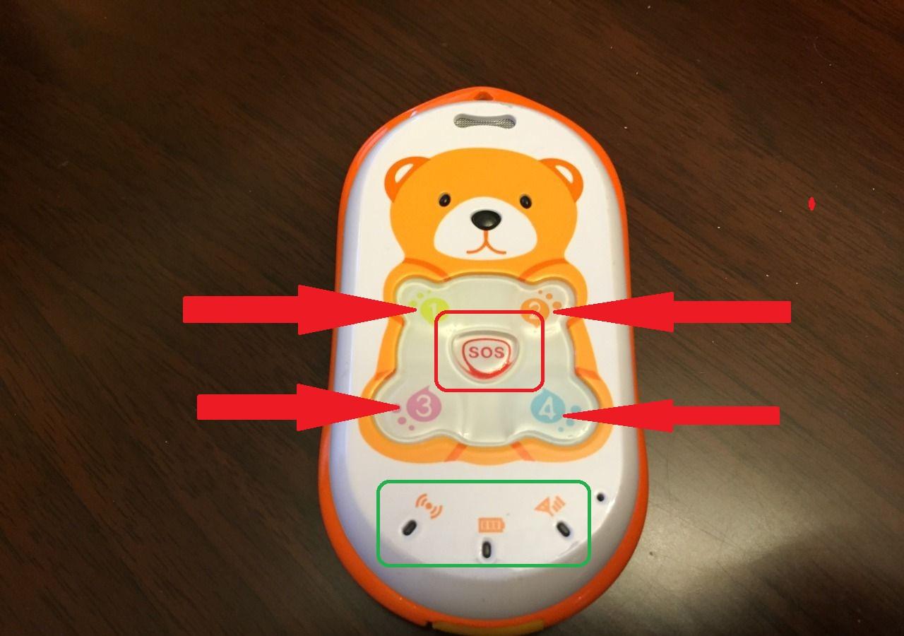 Телефон для детей Baby-Bear