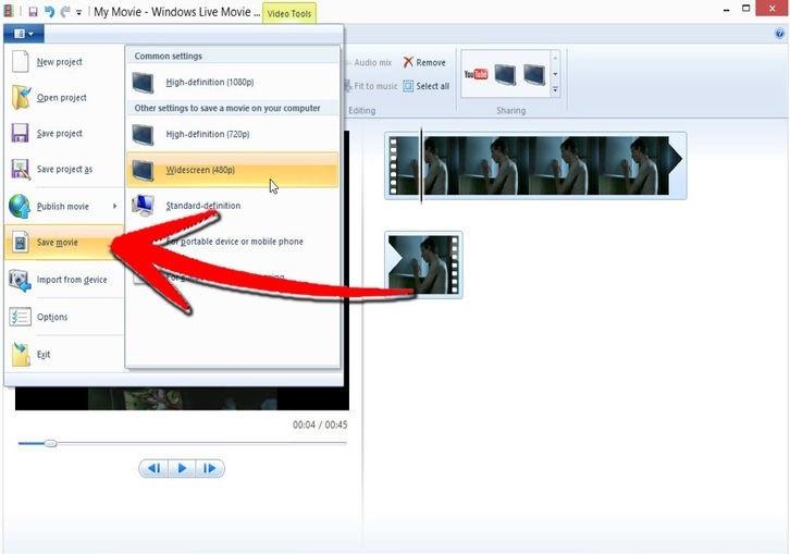 Сохранение файла в приложении