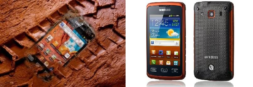 Мобильный телефон Samsung Galaxy xCover с уровнем защиты IP67
