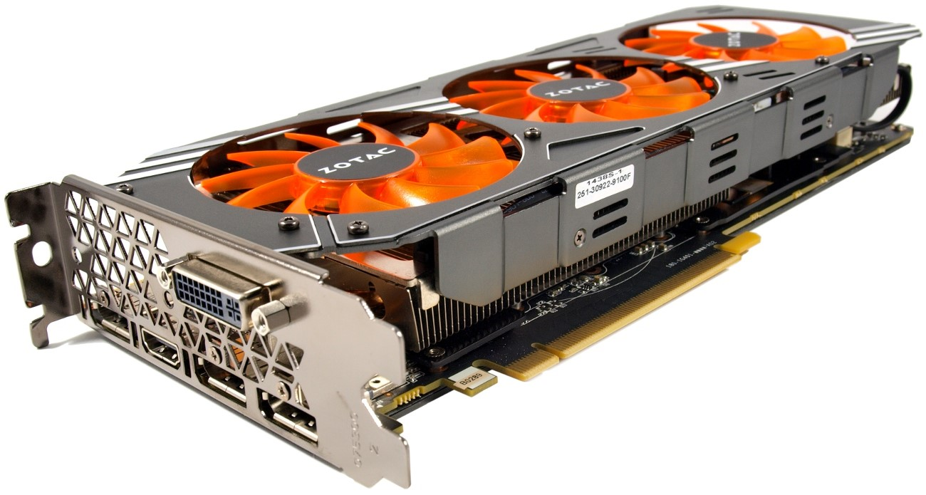 Видеокарта ZOTAC GeForce GTX 980