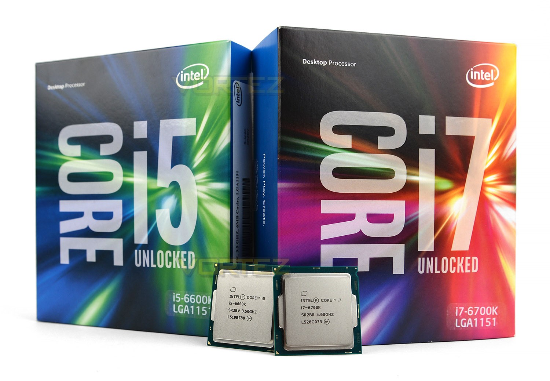 Intel Core i5 и i7 Skylake