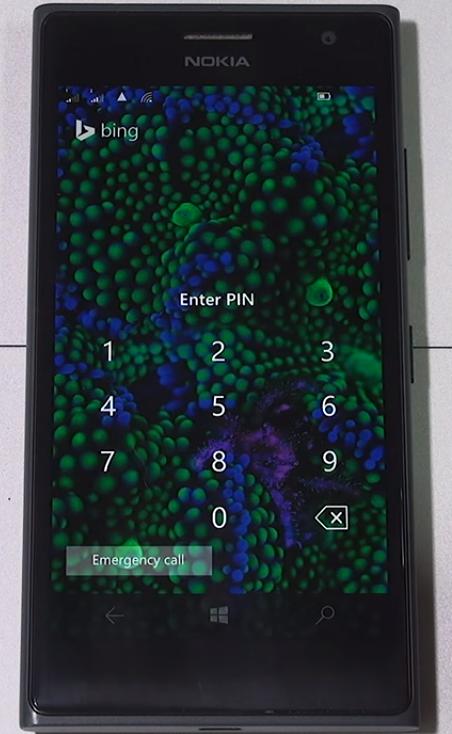 Обновленное окно экрана блокировки