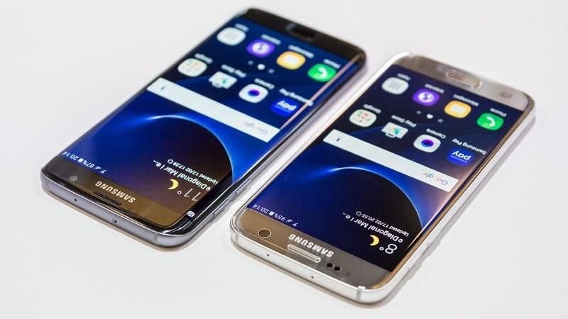 Samsung Galaxy S7 Edge с высоким уровнем защиты от пыли, царапин и влаги