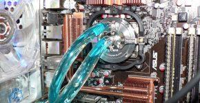Система водяного охлаждения для компьютера