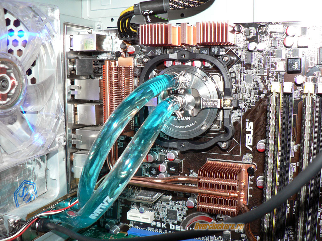 Водяная система охлаждения компьютера своими руками