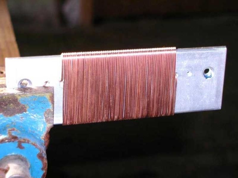 Обмотка проволоки для радиатора