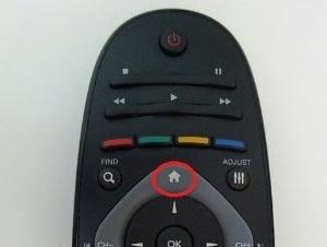 Кнопка включения основных настроек устройства
