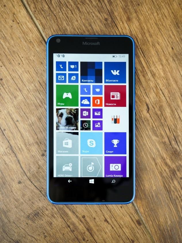 Внешний вид Lumia 640