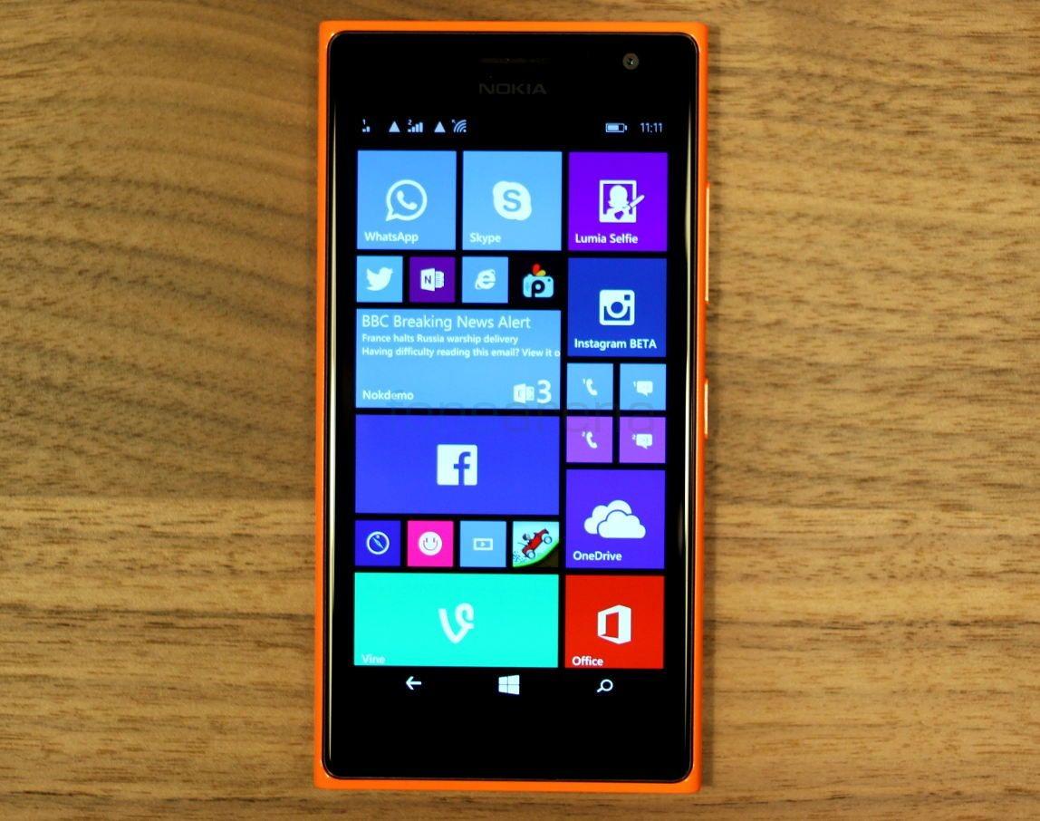 Внешний вид Nokia Lumia 730
