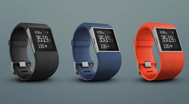 Внешний вид Fitbit Surge