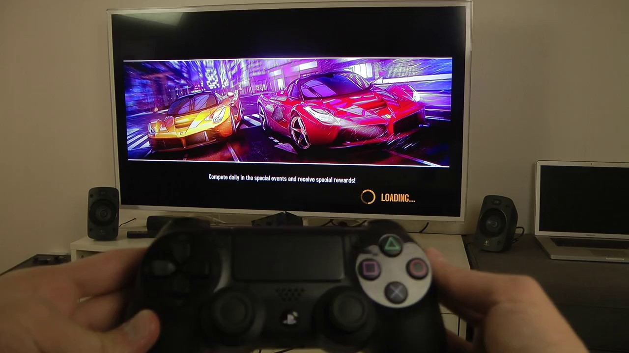 Asphalt 8 на Samsung Smart TV