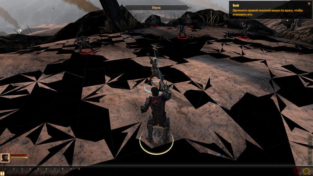 Лаг с плохо прорисованными структурами поверхности в Dragon Age 2