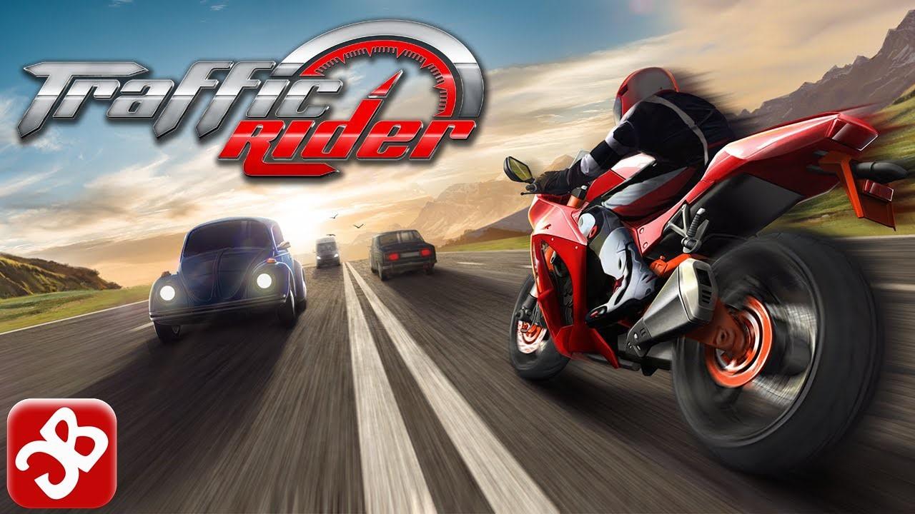 Официальная заставка игры Traffic Rider