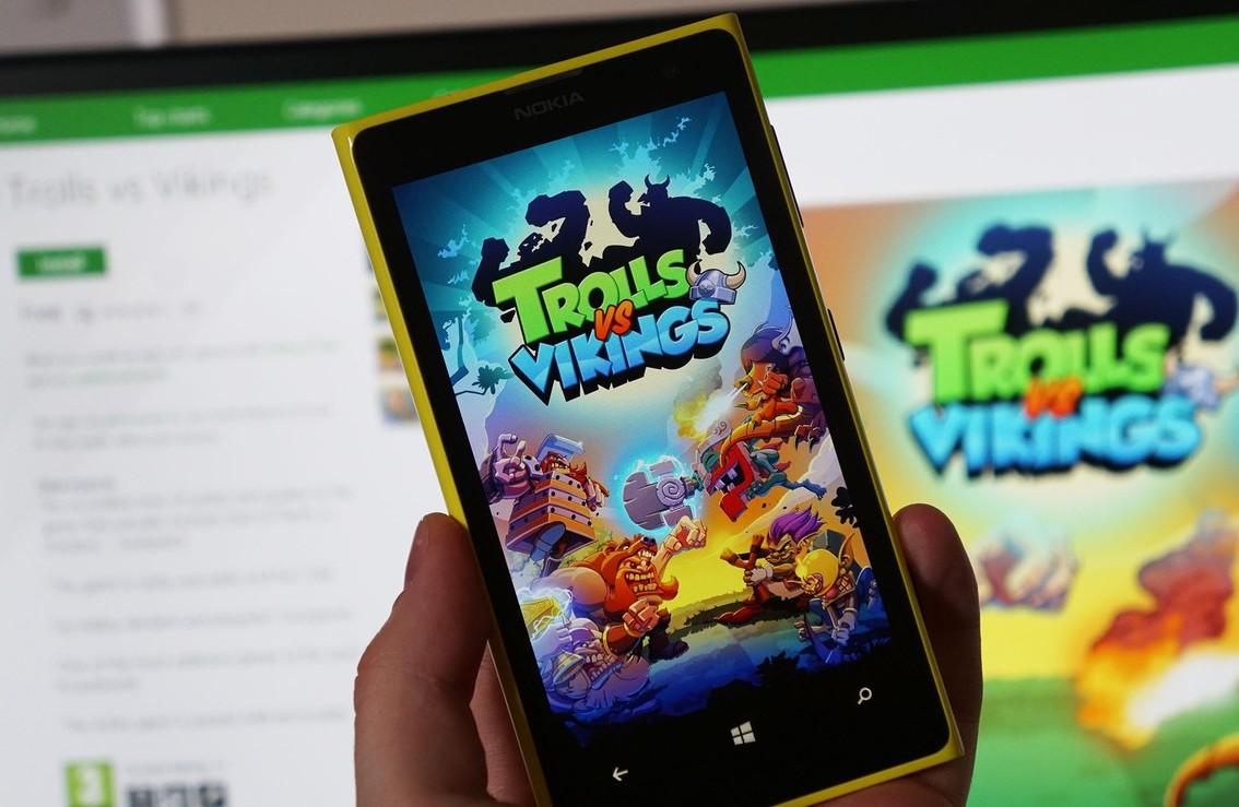 Лучшие игры на Windows Phone
