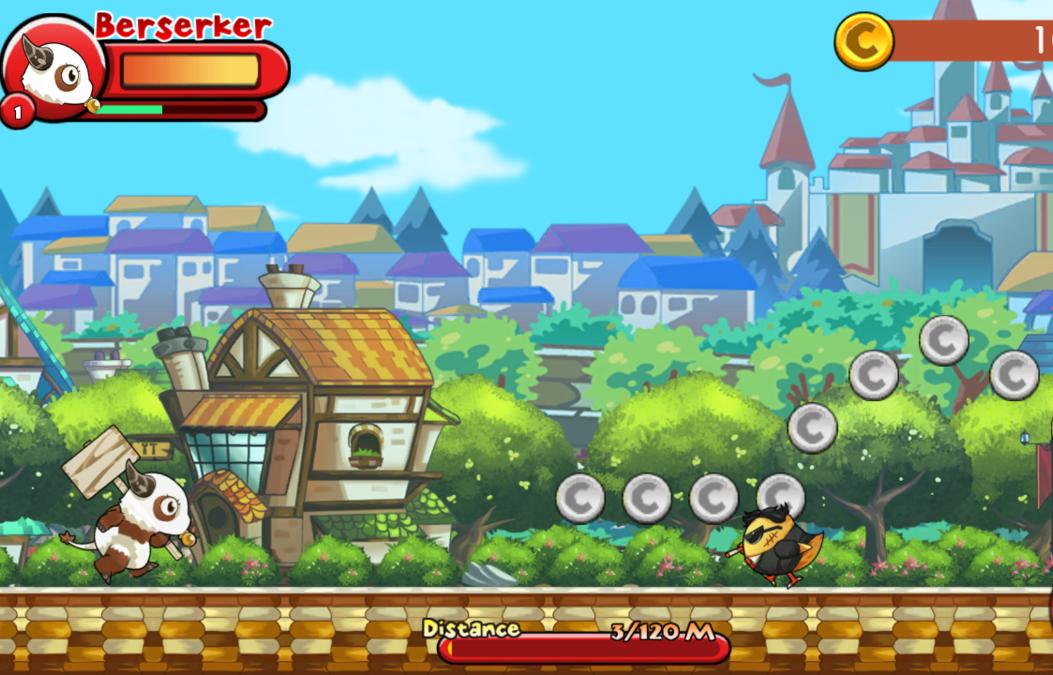 Скриншот геймплея игры Monster Go!