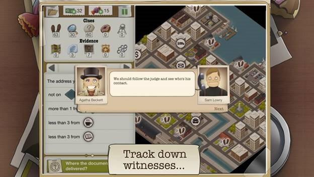 Геймплей «Настоящий детектив»
