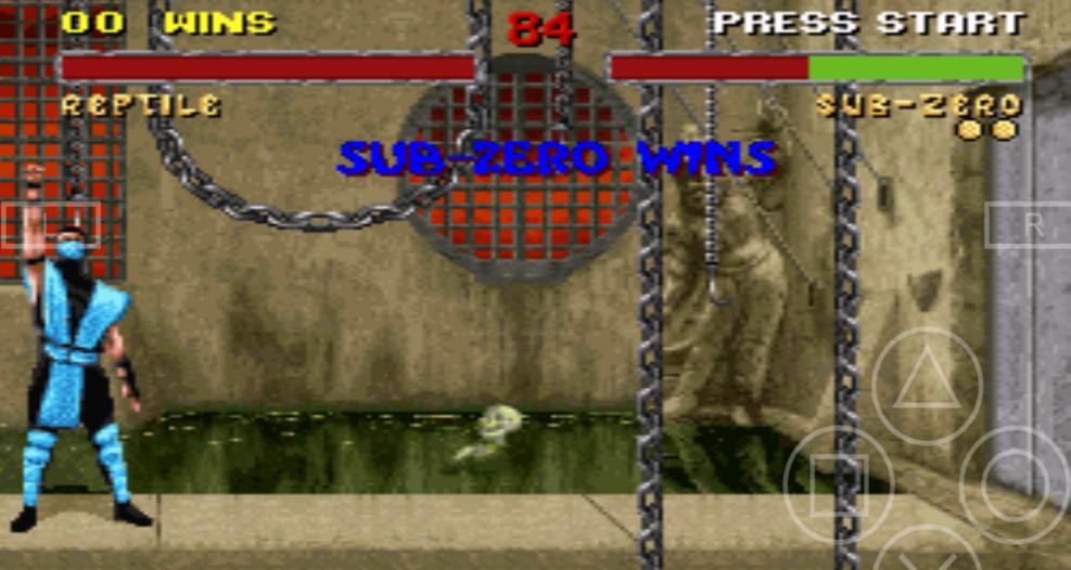 Процесс Mortal Kombat 2