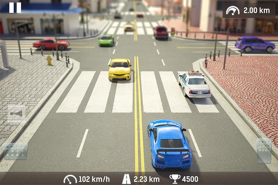 Геймплей Traffic: Road Racing