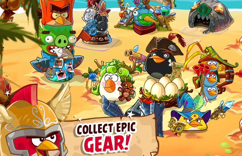 Обложка игры Angry Birds: Epic