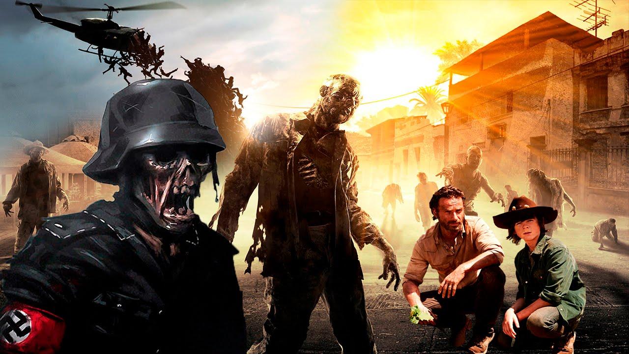 Лучшие игры про зомби