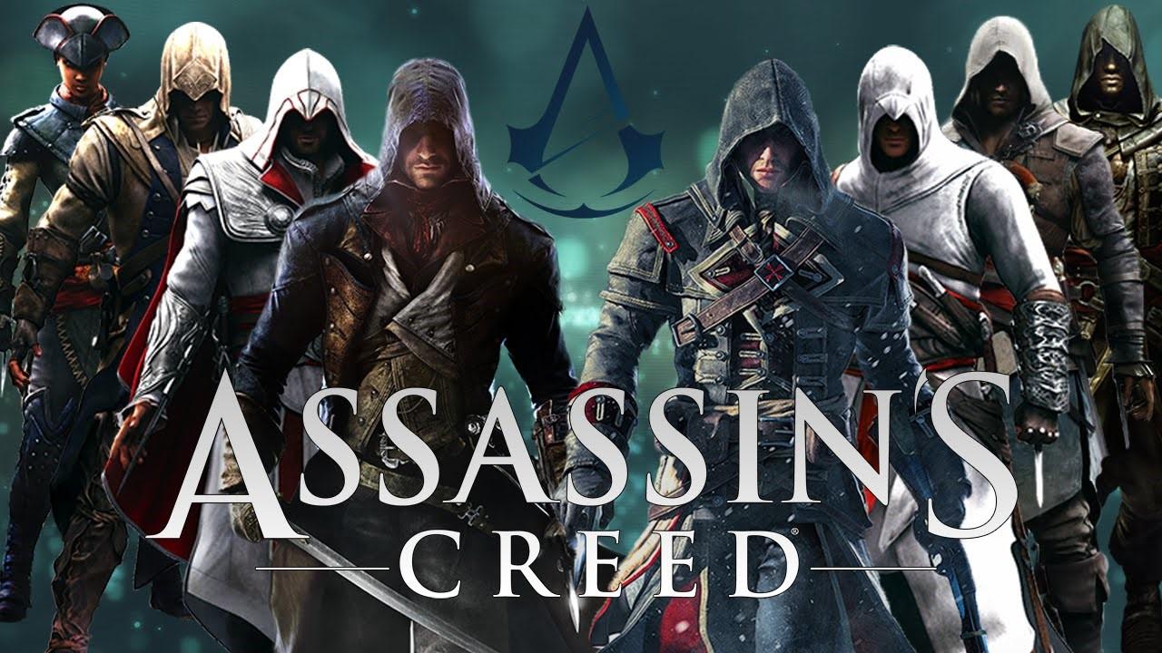 Обложка к Assassin's Creed