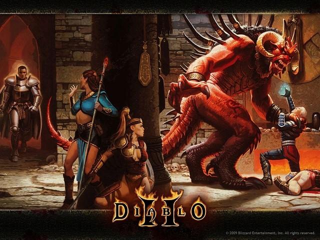 Обложка «Диабло 2»