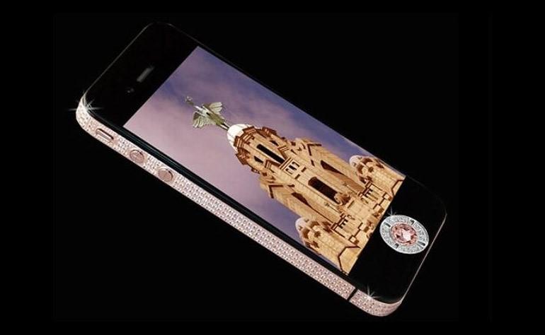 Изображение смартфонаIPhone 4 Diamond Rose Edition
