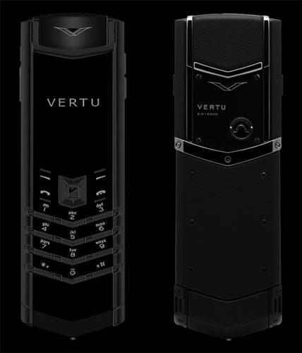 Изображение сотового телефона Vertu