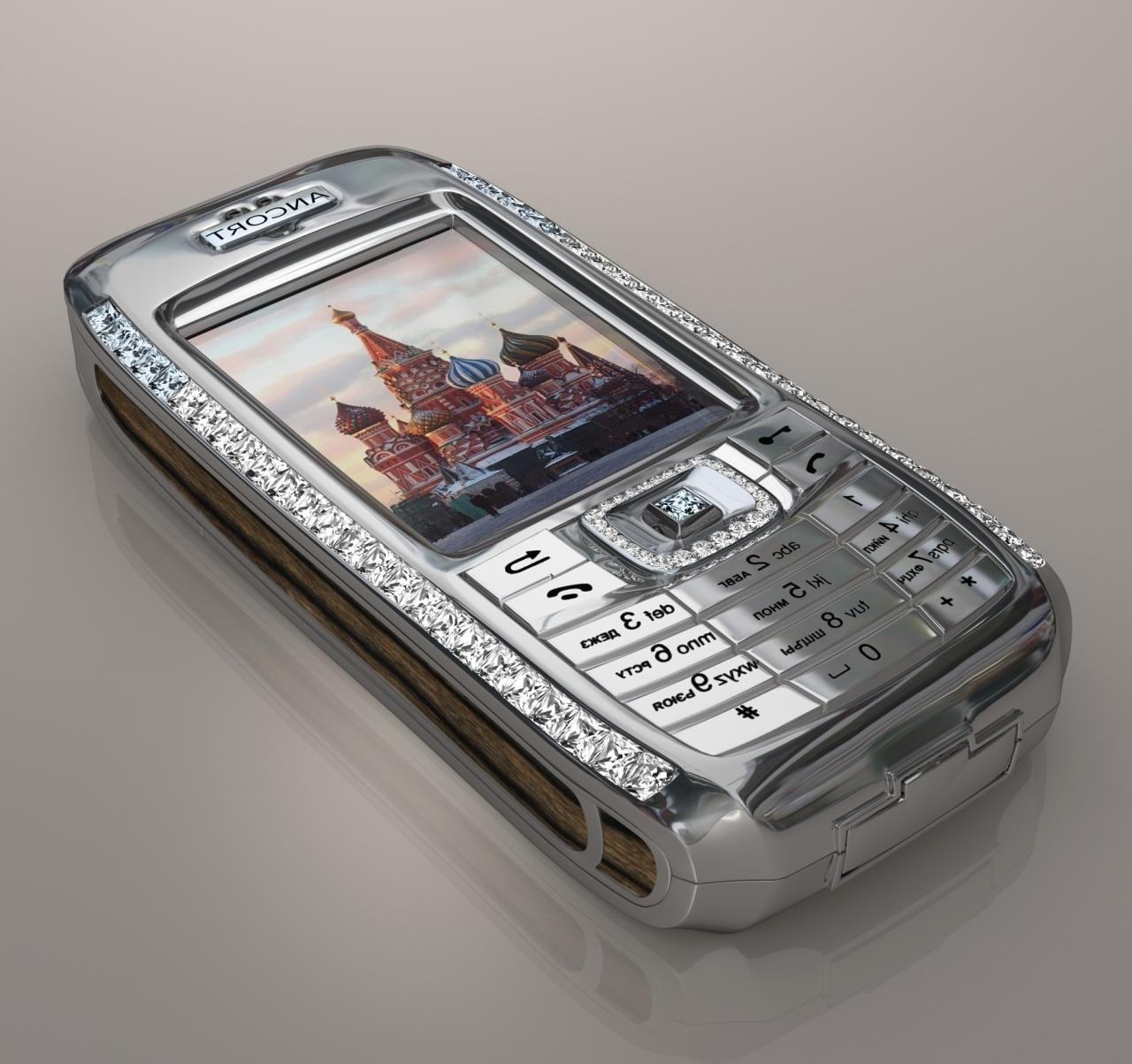 Внешний вид Diamond Crypto Smartphone